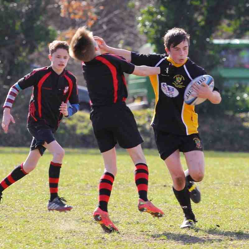 Rochford U14s v South Woodham Ferrers, 8 March 2015