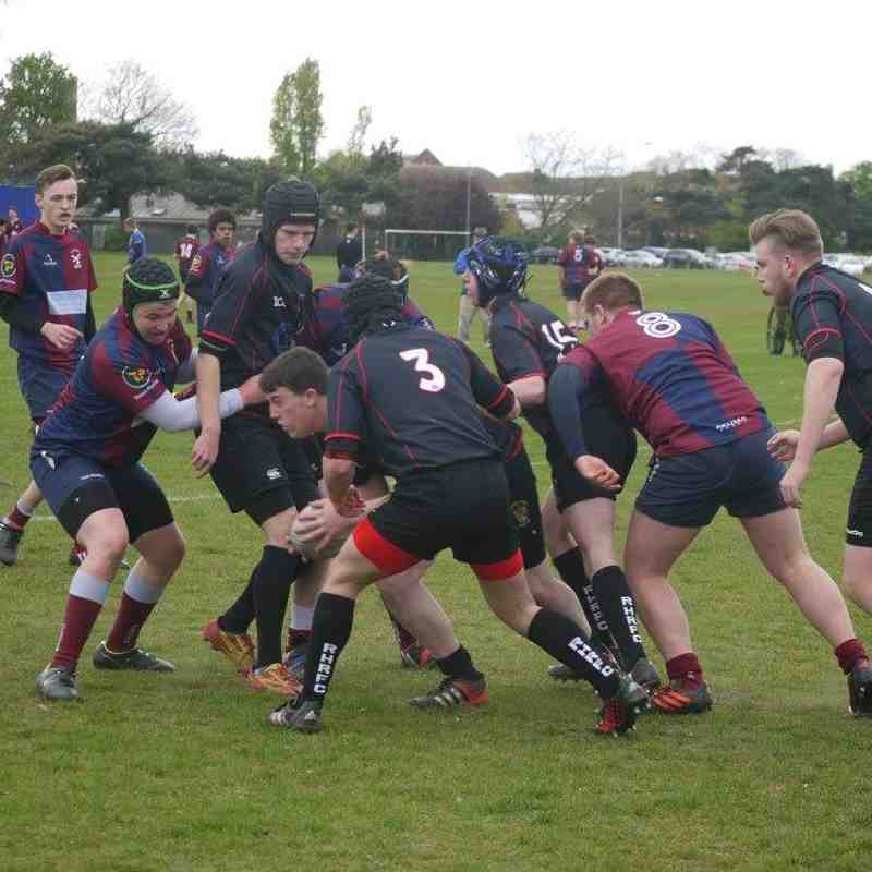 Clacton v Rochford U16/17s, 23 April 2017