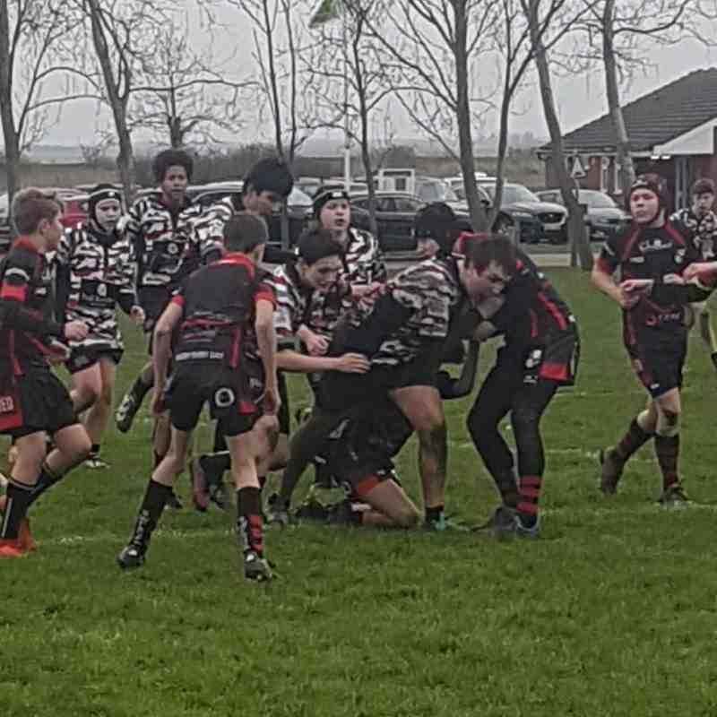 SWF v Rochford U14s, 6 January 2019