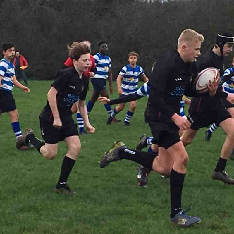 Wanstead U13s v Rochford, 6 January 2019