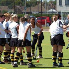 Ladies' Vets against Lytham June 2014