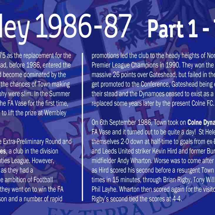 Road to Wembley Heritage Boards
