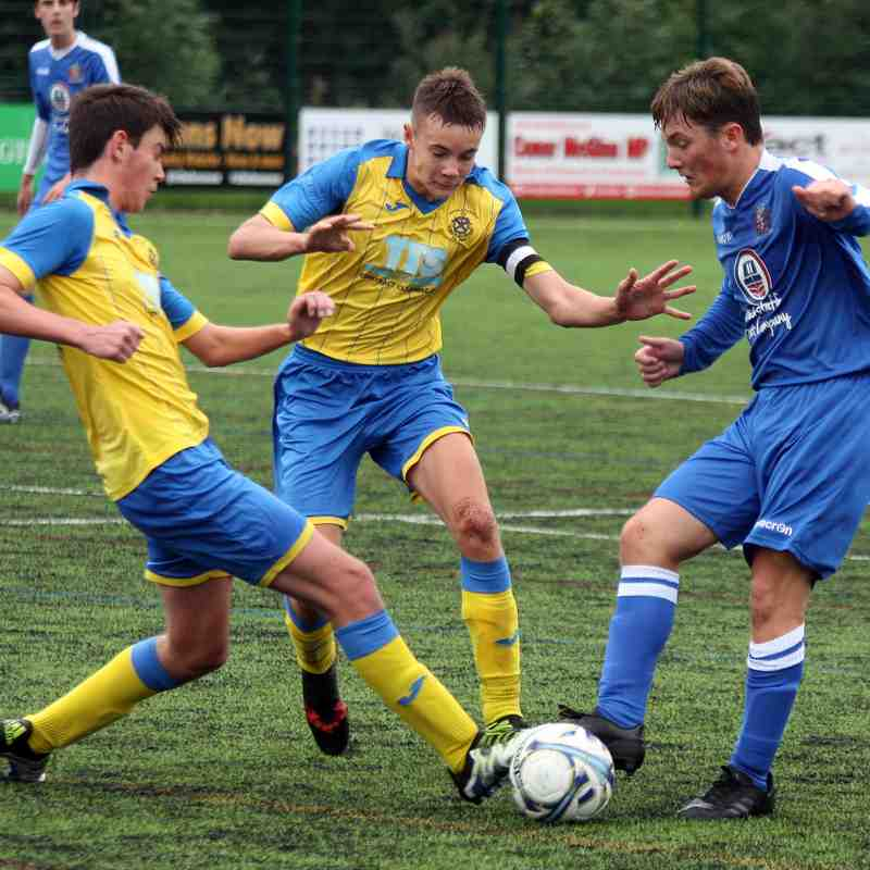 St Helens Town U18s 1-1 Ashton Athletic U18s (Sun 26/08/2018(+)