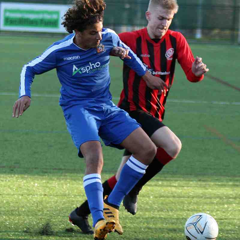 St Helens Town Reserves 0-3 Holmes Chapel Hurricanes (Sat 17/11/2018)