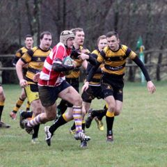 Sussex 1.. Uckfield 1st XV  25  vs. Hellingly 1st XV  12  Saturday 7th January 2017