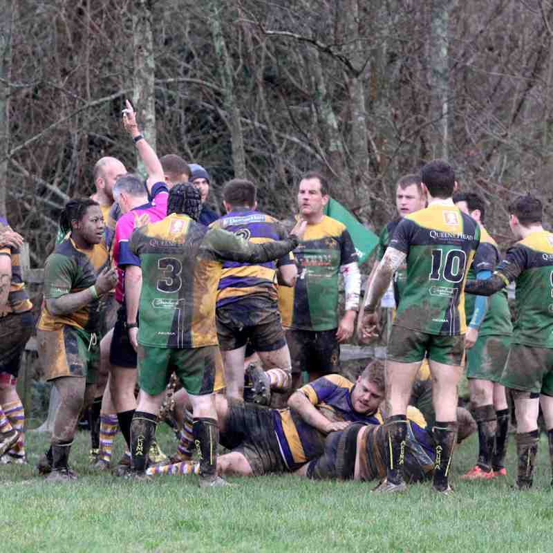 Sussex 1...Uckfield RFC 1s 24   Barns Green RFC1s 15 Saturday  6th January 2018
