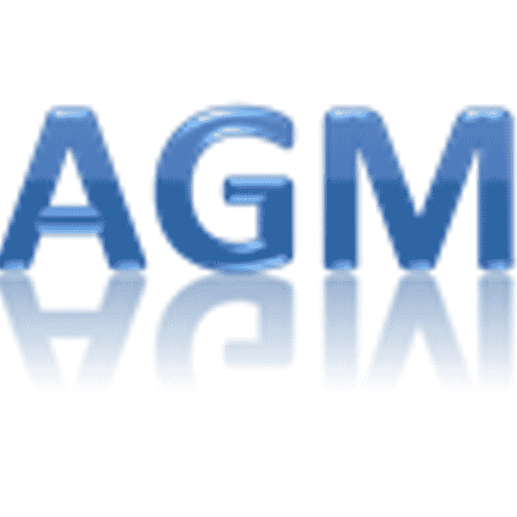 AGM Change of Start Time