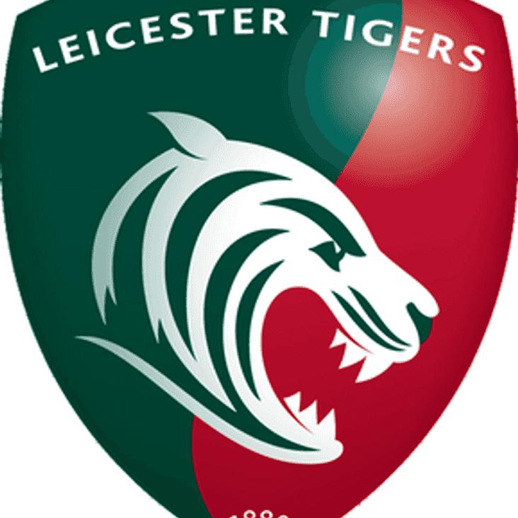 U14's Leicester Tigers Trip April 2nd