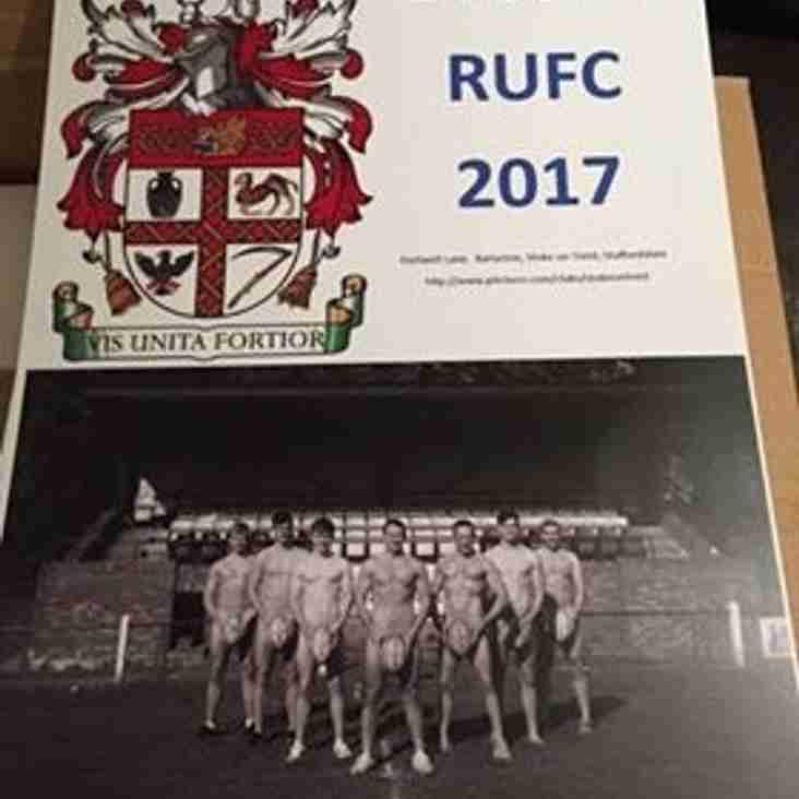 Stoke RUFC 2017 Calendar