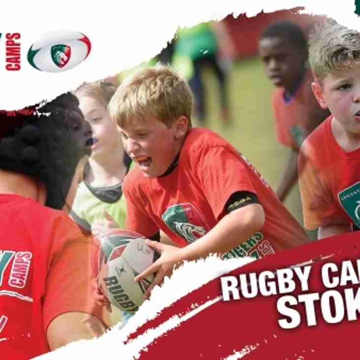 Tigers Rugby Camp at Stoke RUFC