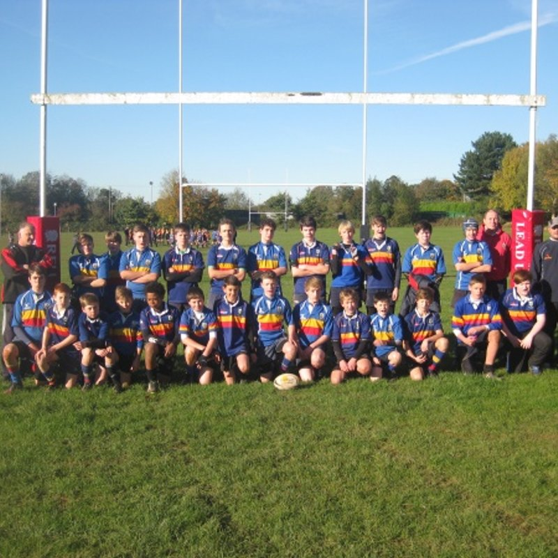 Colts beat Rugby St Andrews RFC 0 - 40