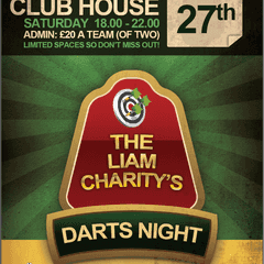 The Liam Charity Doubles Darts Night