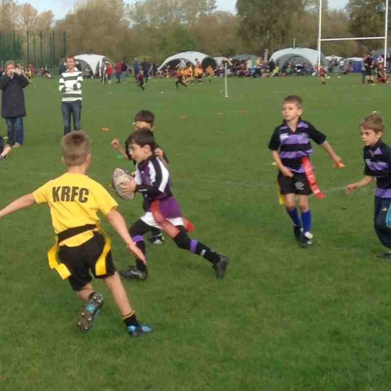 U7s at the Keynsham Tournament - Part 1