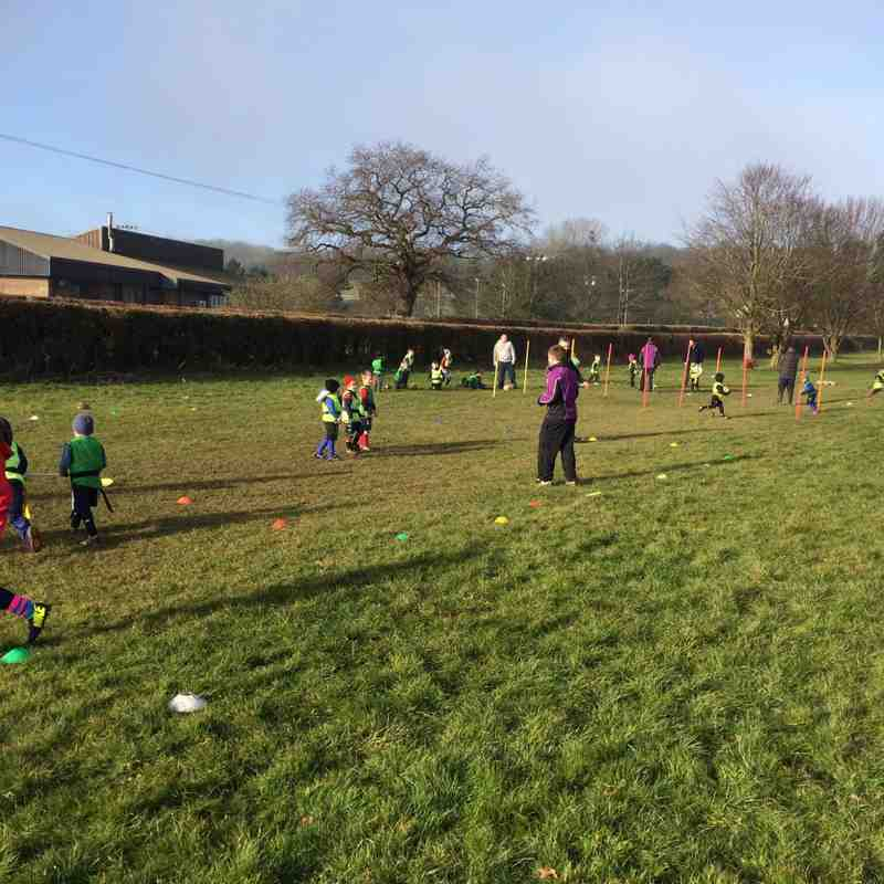 Great day with the U6's