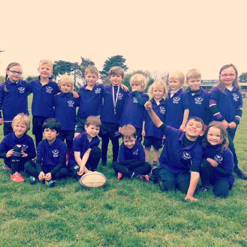 U6 rugby tour 2015 Barnstable