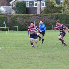 Action shots from the 1st XV 2016/17