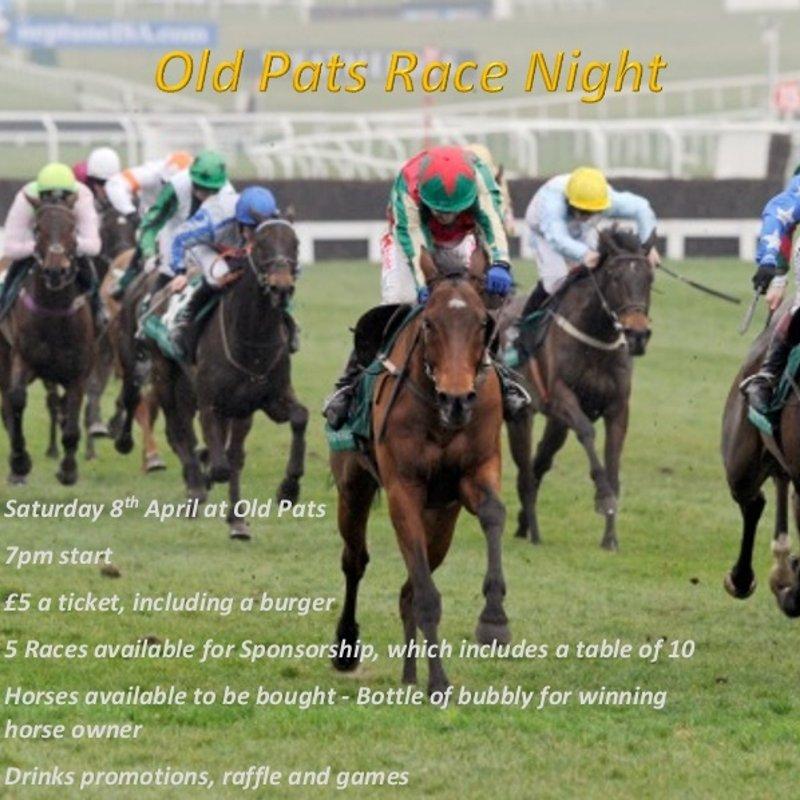 Old Pats Race Night