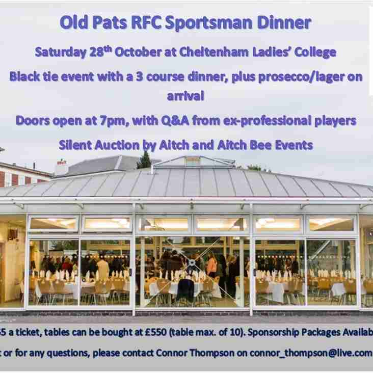 Old Pats Sportsman Dinner