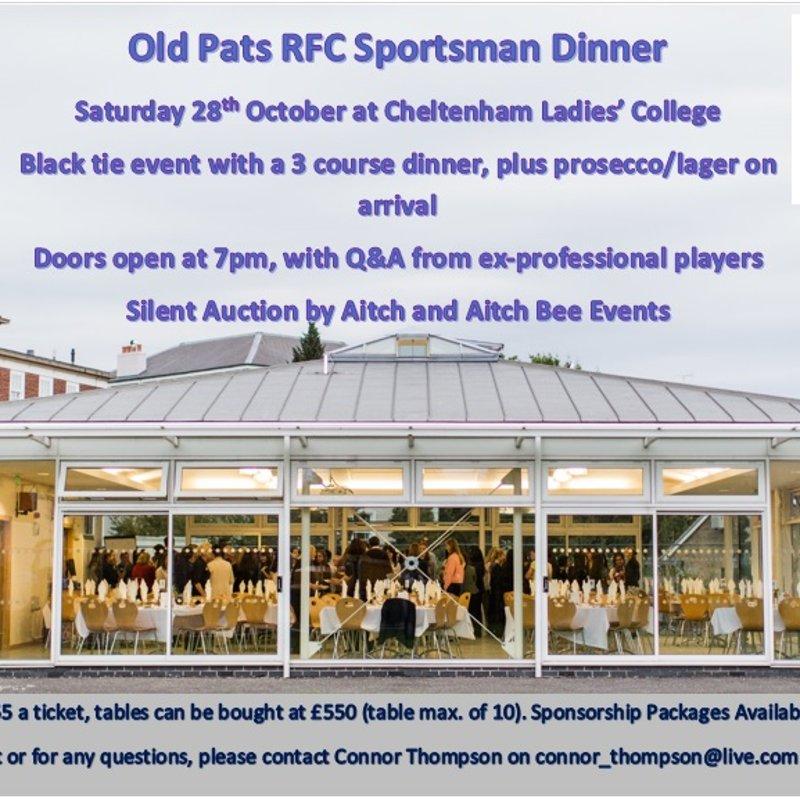 Old Pats Sportsman Dinner