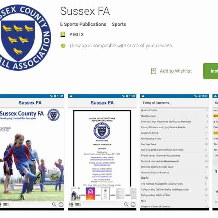 Sussex County FA [2017-2018 Handbook]