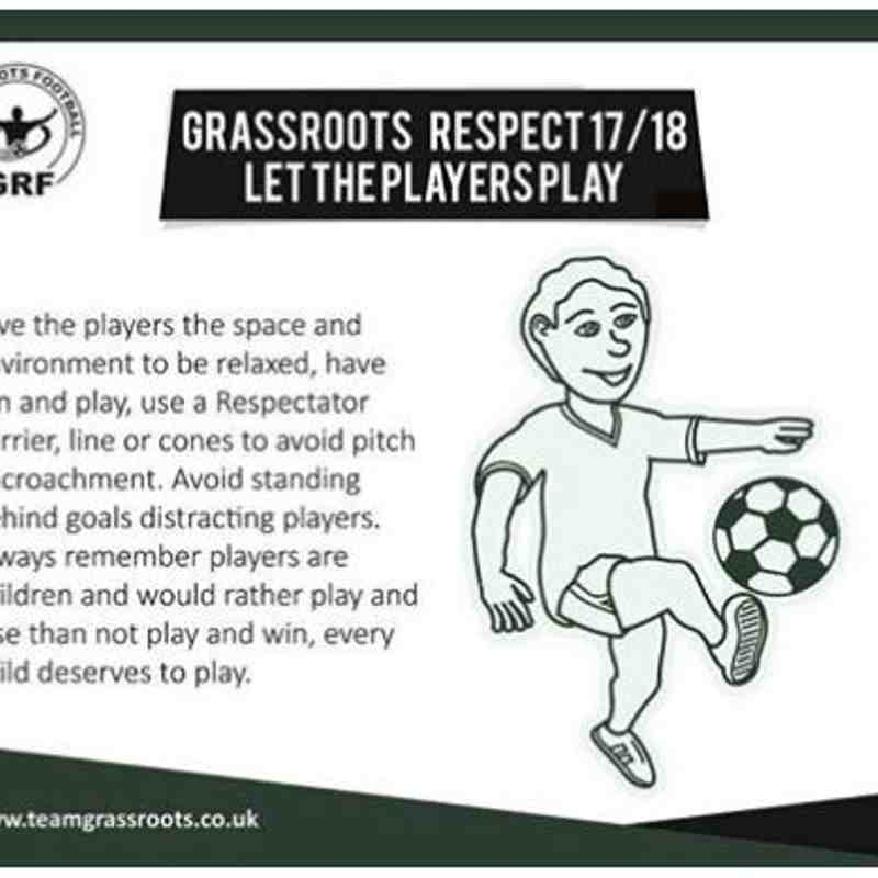 1708 - Respect Let Players Play
