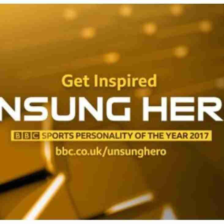 Awards [BBC Unsung Hero 2017]