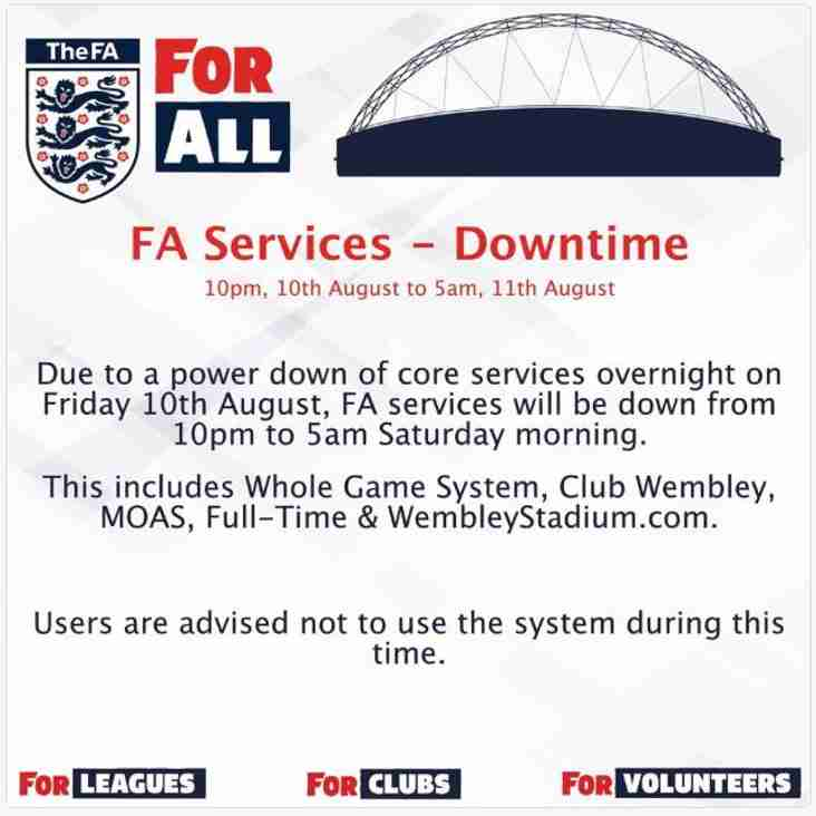 FA [System Downtime]