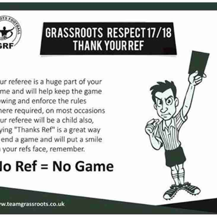 Respect [Referee and Rules]