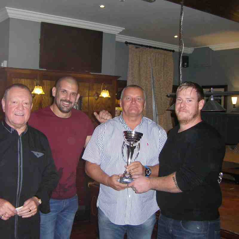 Stuart Crooks Coaches Player of Year