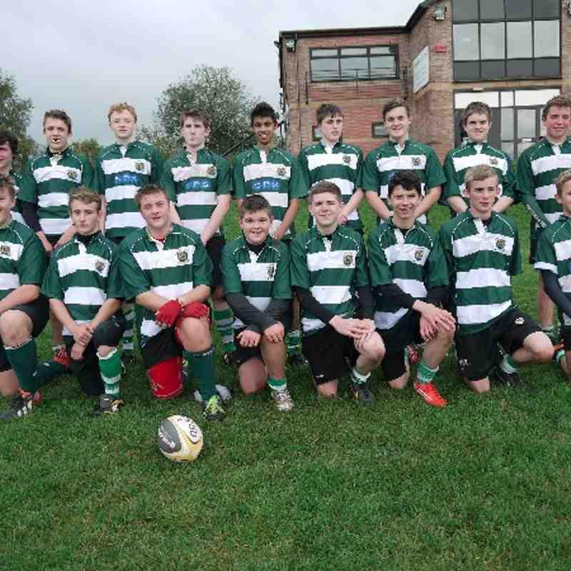 Trentham U15's Team - 20/10/13