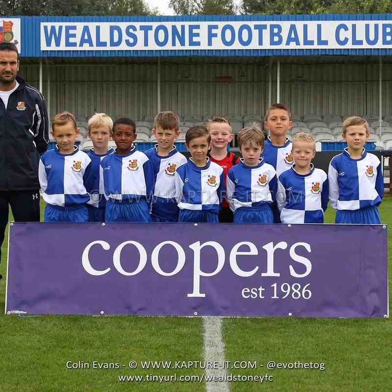 U8 Blue Squad and player photos