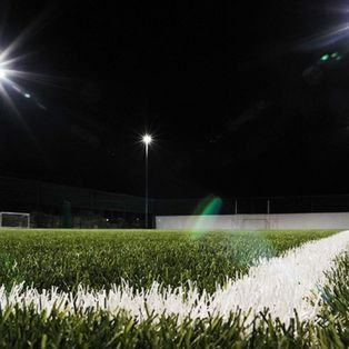 Blues shine under floodlights