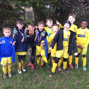U9 Blues go marching on