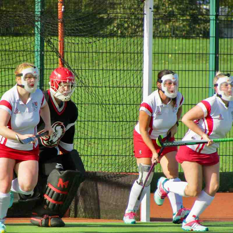 Basildon ladies 1s Vs Havering 1s