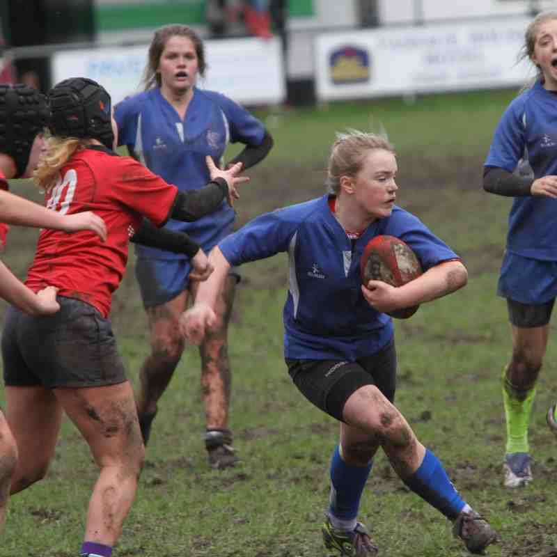 U15 Girls Sarisons vs Kingsbridge