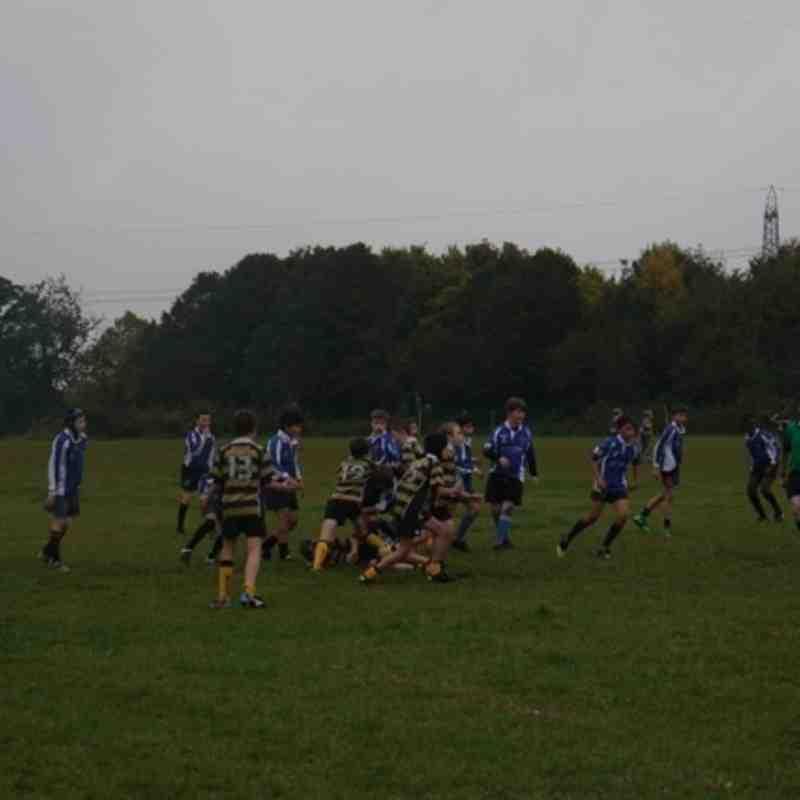 U13s v Hackney Bulls Oct 2015