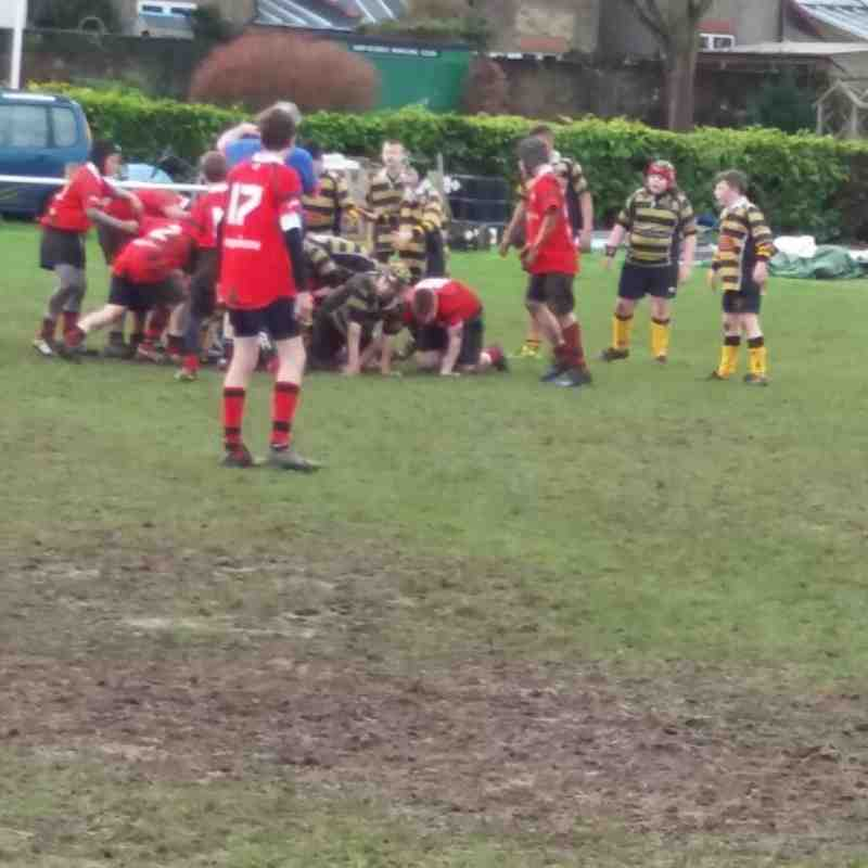 U13s London Welsh Jan 2016