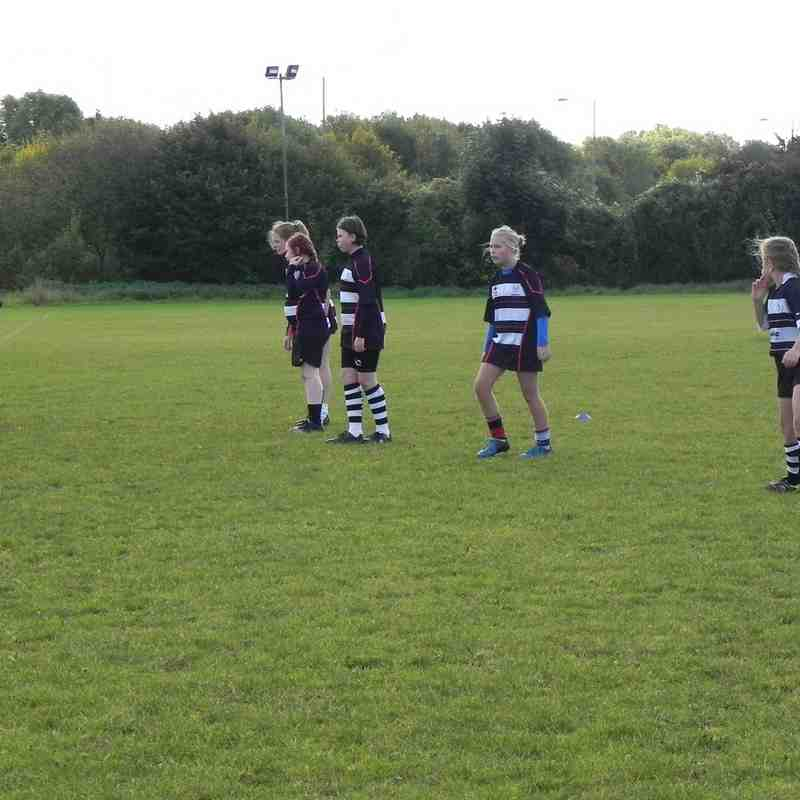 U13 Girls Chippenham v Kingswood 16.10.16
