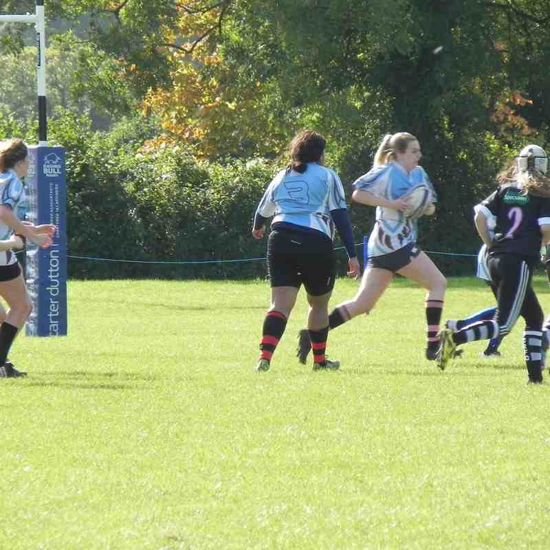 U18 Girls Chippenham v Kingswood 16.10.16