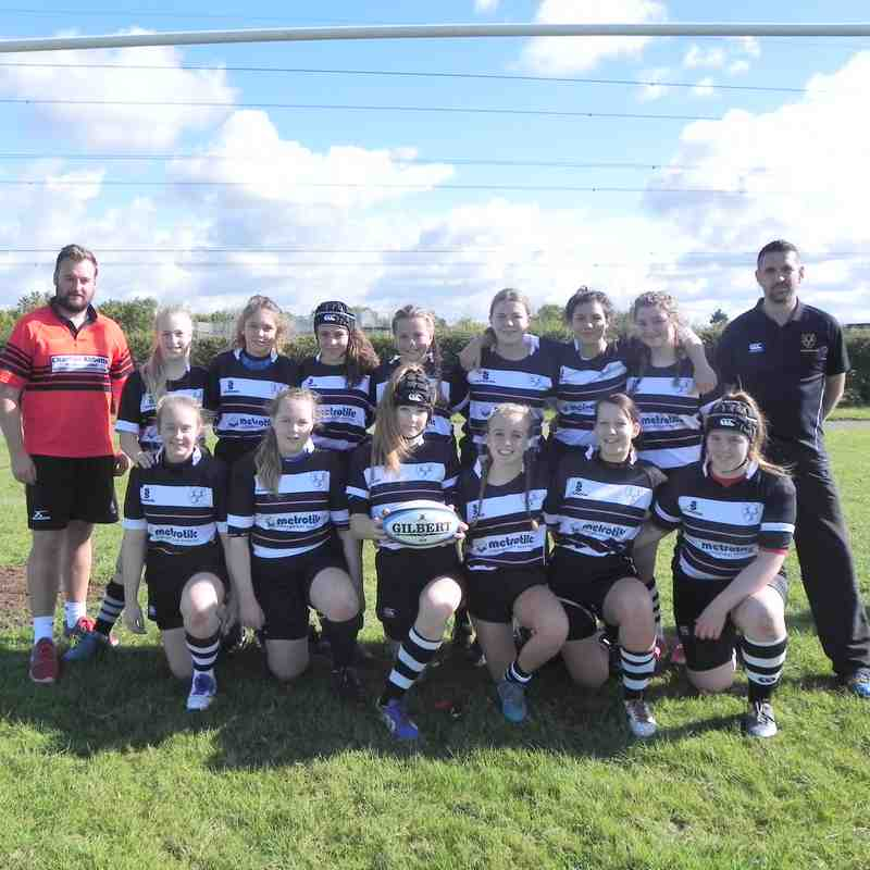 U15 Girls Chippenham v Kingswood 08.10.17