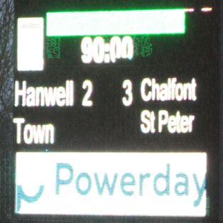 Hanwell Town 2 Chalfont St Peter 3