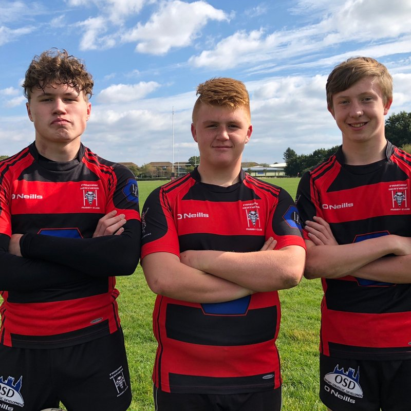 Fareham Heathens U15s Selected for London Irish Academy