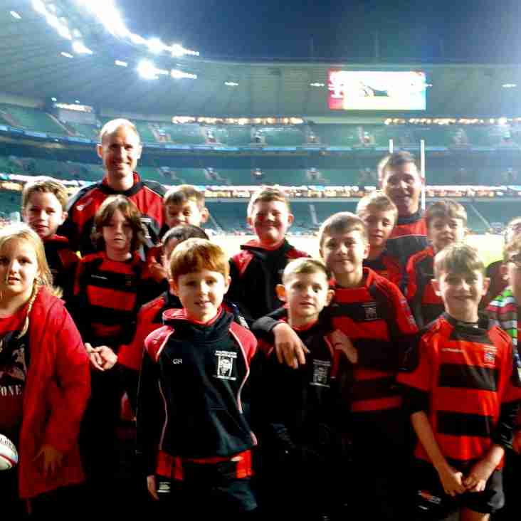 Heathens U9s shine at Twickenham for Big Game 11