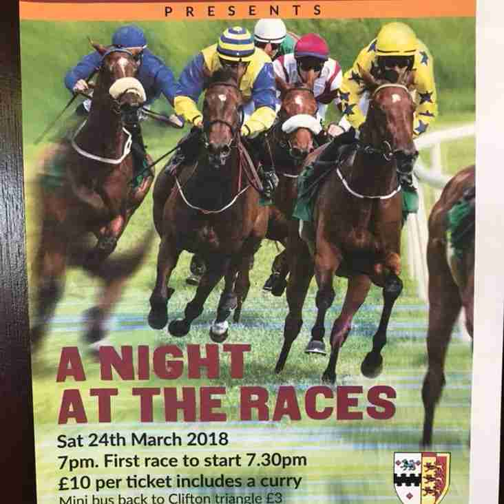 Sports Club Race Night