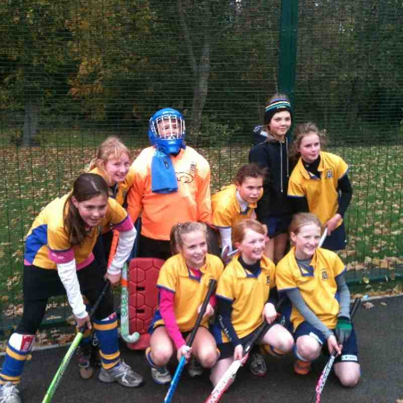 U12 Girls A team Oct 2012