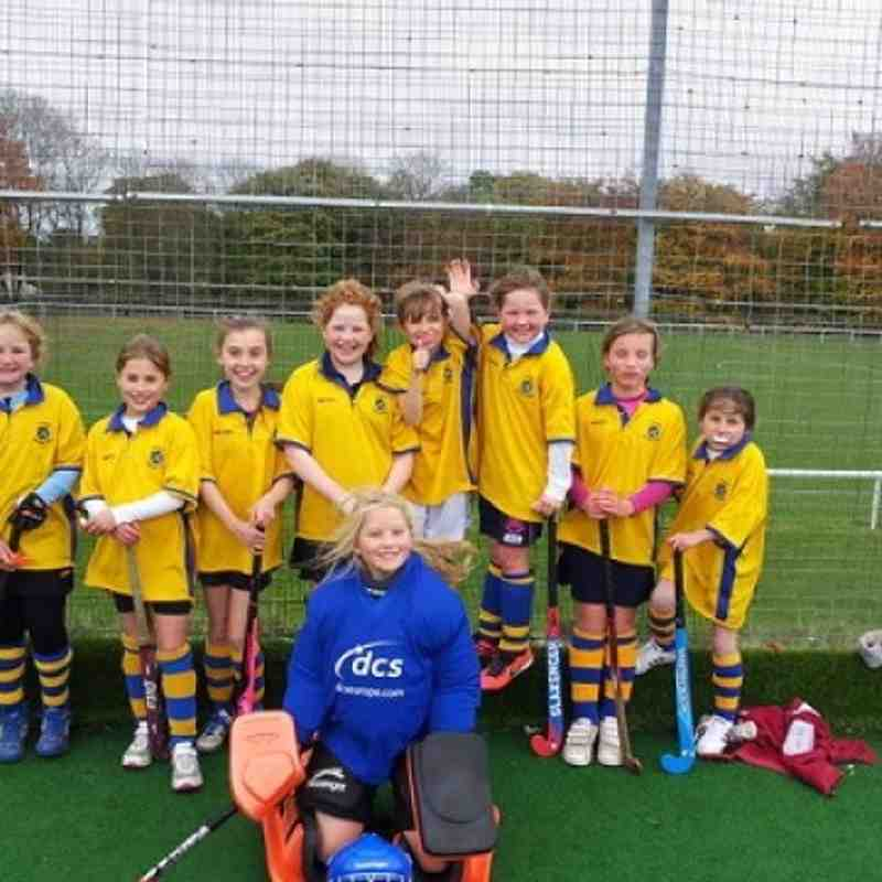 U12 Girls B team Oct 2012