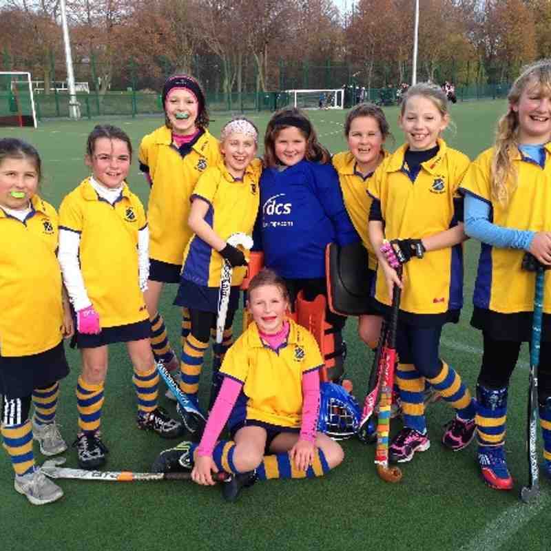 U10Girls A team Nov 2013