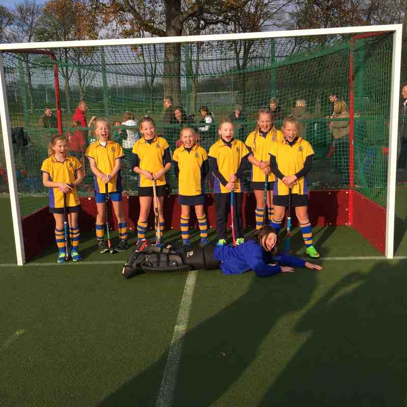 U10 Girls A team Nov 2014.