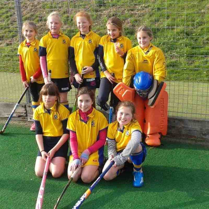 U10 Girls B team Nov 2014.