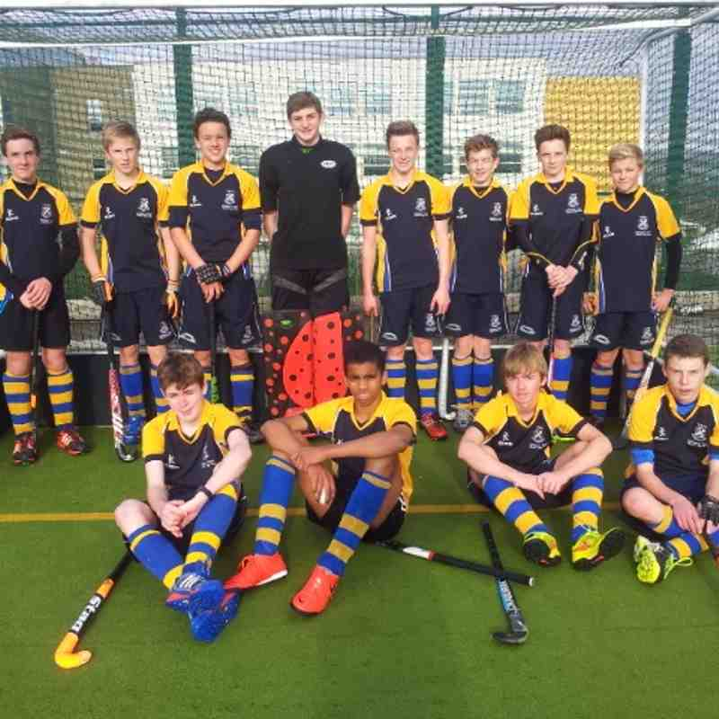 U16 Boys team Nov 2014.  Back from left: Alex Board, Sam Bosomworth, Arthur Hunt, Luke Brownlee, Oliver Houseman, James Foster, James Houseman, Paddy Medley